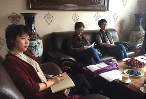 中国戏剧家协会等协会到青岛西海岸新区戏剧家协会进行考察调研