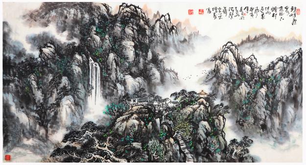 李增寿大师——德艺双馨的书画大家