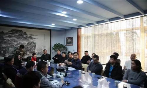 青岛安丘商会举行五周年成立会议暨迎新年座谈会