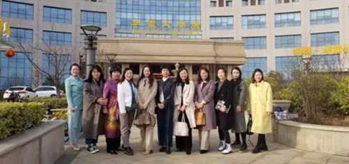 青岛经济技术开发区女企业家商会受邀参加企业经营知识培训