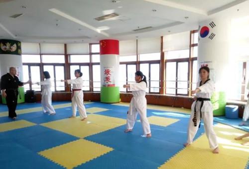 青岛市市南区跆拳道协会举办2018年跆拳道公益讲堂