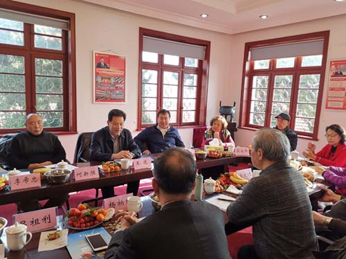 青岛市科学技术协会举办老干部新春座谈会