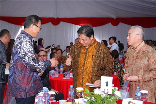 """青岛民营企业协会长于瑞升访问印尼,出席印尼""""瑞源中小企业产业园""""开园仪式"""