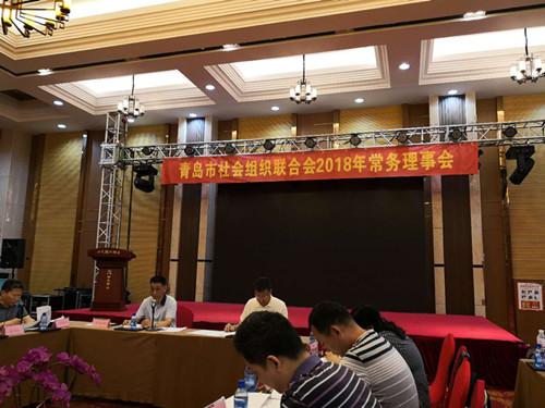 青岛市社会组织联合会召开常务理事会