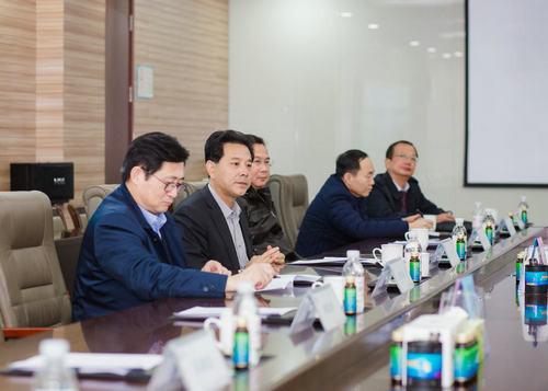 山东省科学技术协会副主席纪洪波一行到西海岸新区考察调研企业科协组织工作